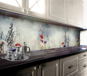 panel szklany kuchnia kwaty
