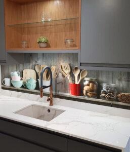 panel szklany kuchnia meble