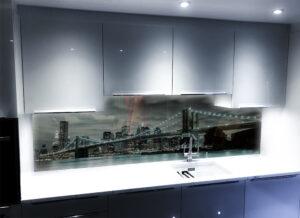 panelszklany kuchnia miasto