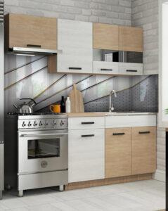 szkło do kuchni wzory geometryczne